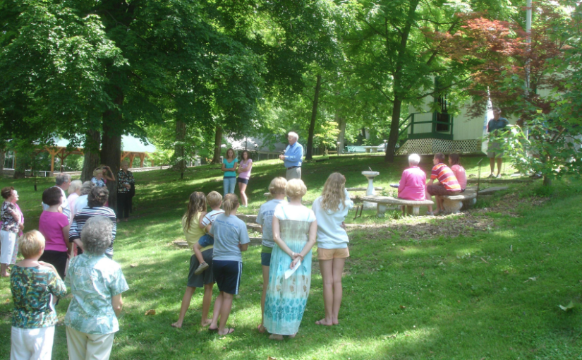 Dedication Ceremony of the Memorial Walkway at New Piasa Chautauqua